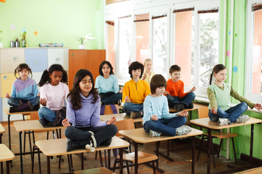 Something to Talk About: The Yoga-Recess In Schools Campaign