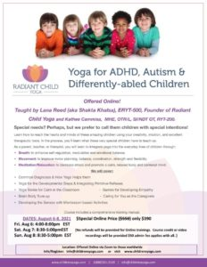Yoga for ADHD/Autism and Different Abilities
